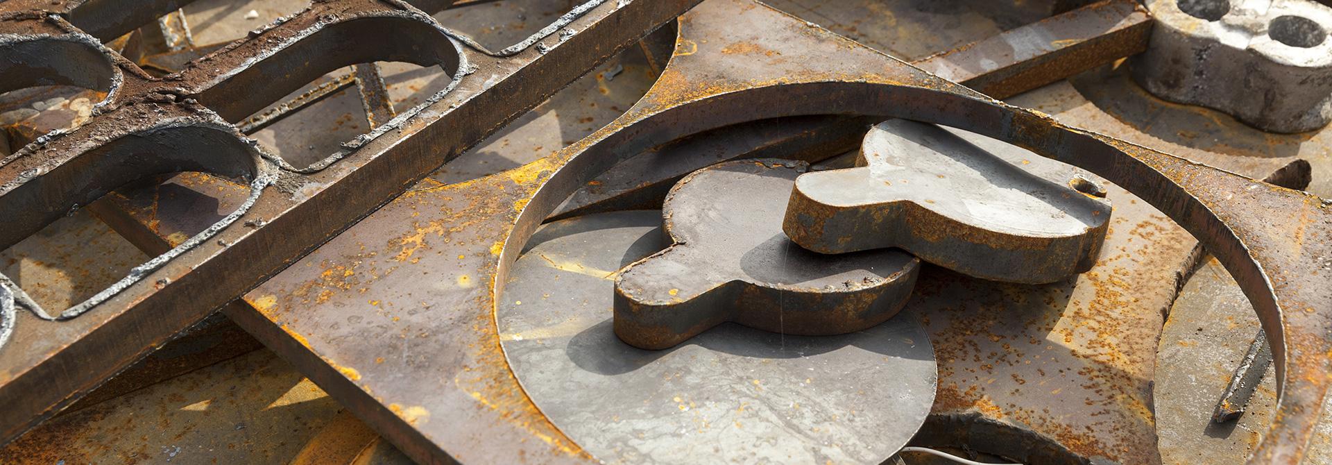 Echokal. Lunga vita alla materia. Materiale ferroso
