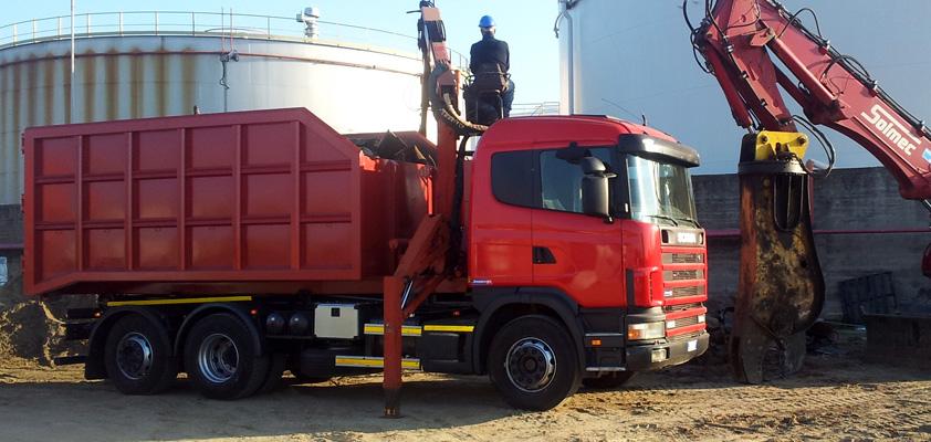 Echokal è un partner esperto nel trasporto, prelievo e smaltimento dei rifiuti