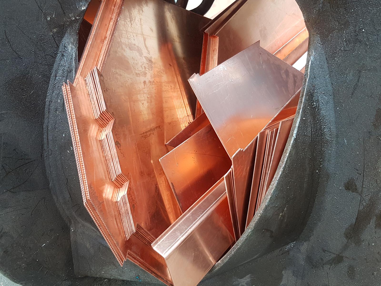 echokal. ritiro e recupero materiale ferroso e non ferroso. rame